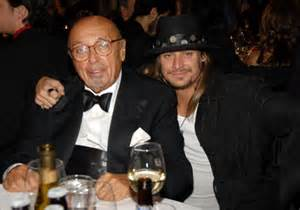 "An aging Ertegun with his ""next Elvis,"" Kid Rock. Uh, no."