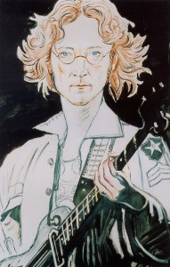 John Lennon by Dolya Goutman