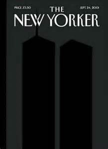 A magazine cover remarkably captures 9-11.