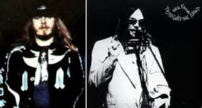 Ronnie Van Zant & Neil Young